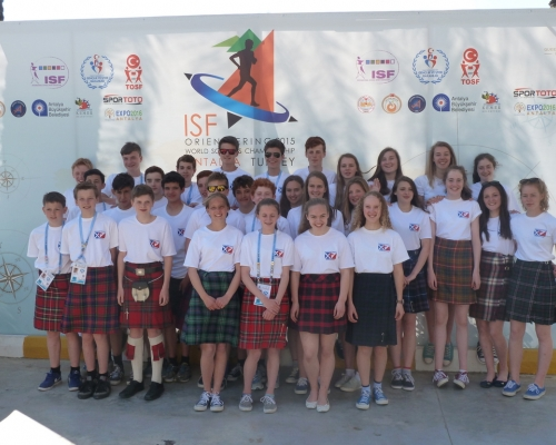 Scottish Team at the World Schools 2015