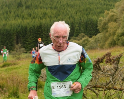 Julian Lailey who raised over £1000 doing the Joss Naylor challenge last year