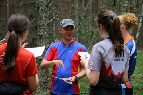Coaching in the forest