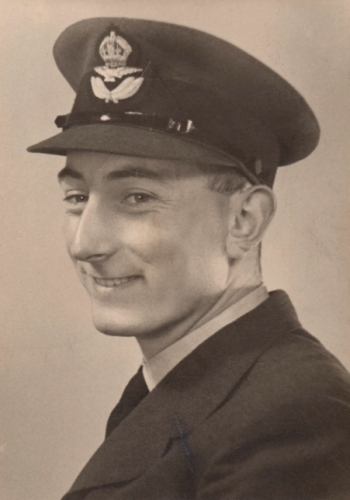 Peter Palmer 21 years old in 1953 just after he finished National Service at the RAF.