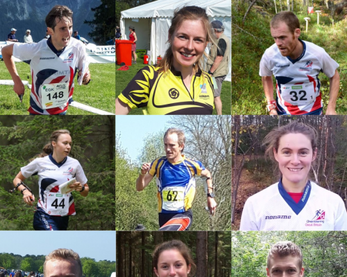 GBR team at WOC 2019