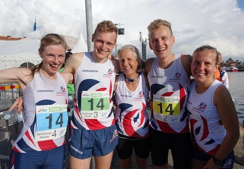 4th in the Mixed Sprint Relay in 2016